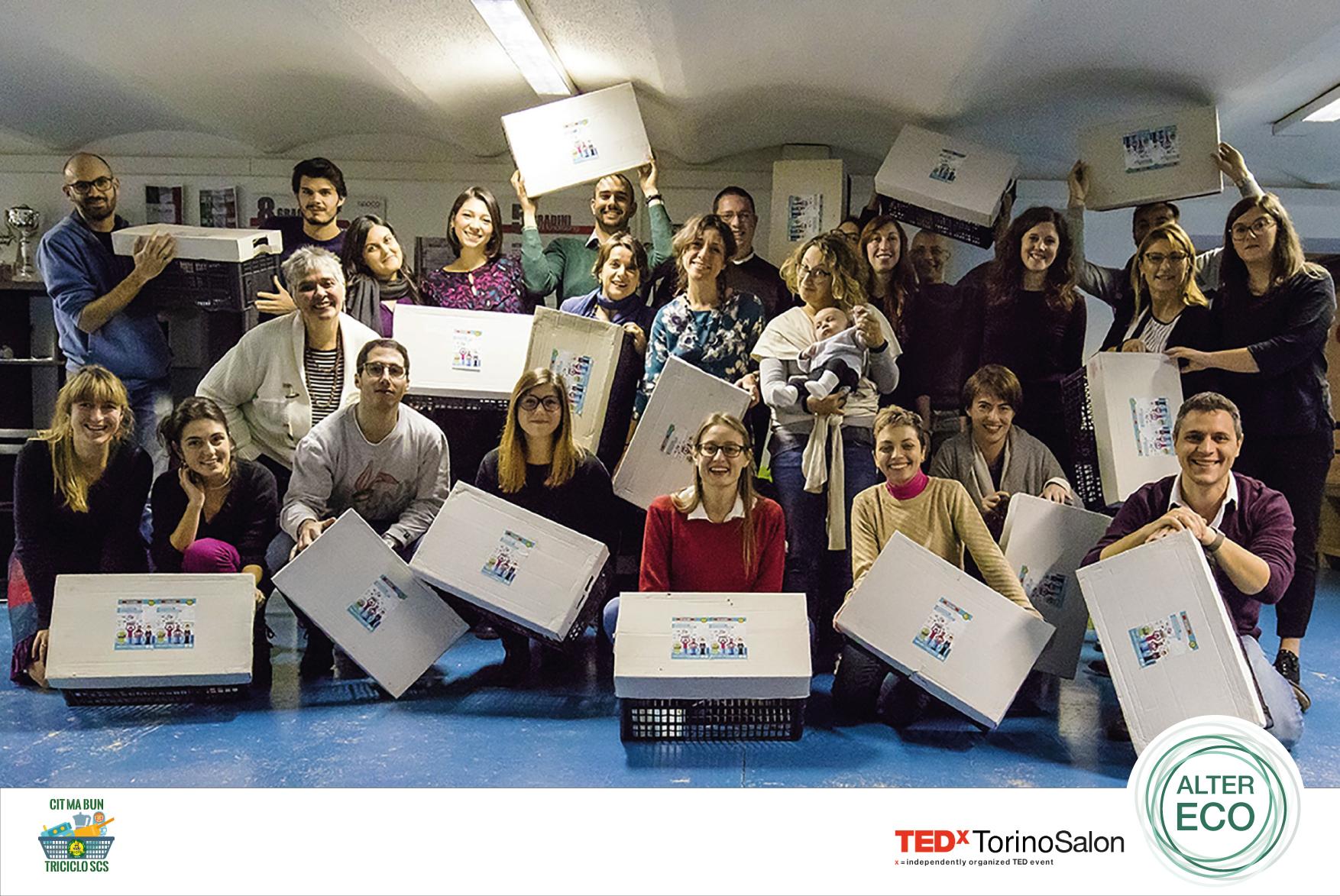 Cit ma Bun e i volontari di TEDxTorino