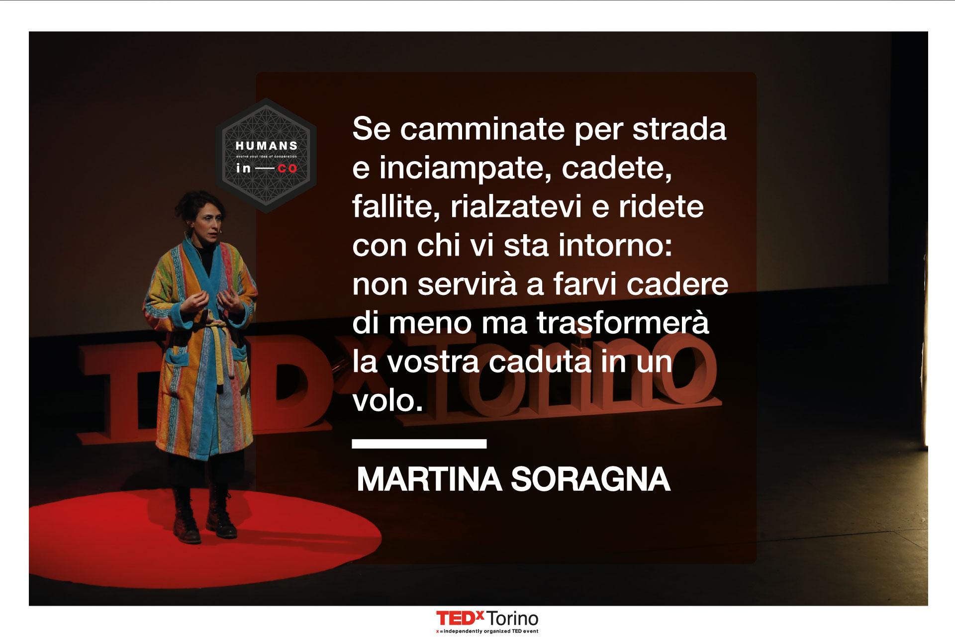 Martina Soragna citazione fallimento