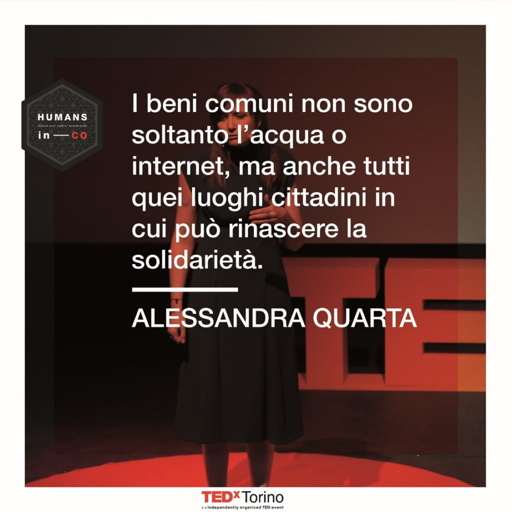 Alessandra Quarta parla di Beni Comuni a Humans in Co