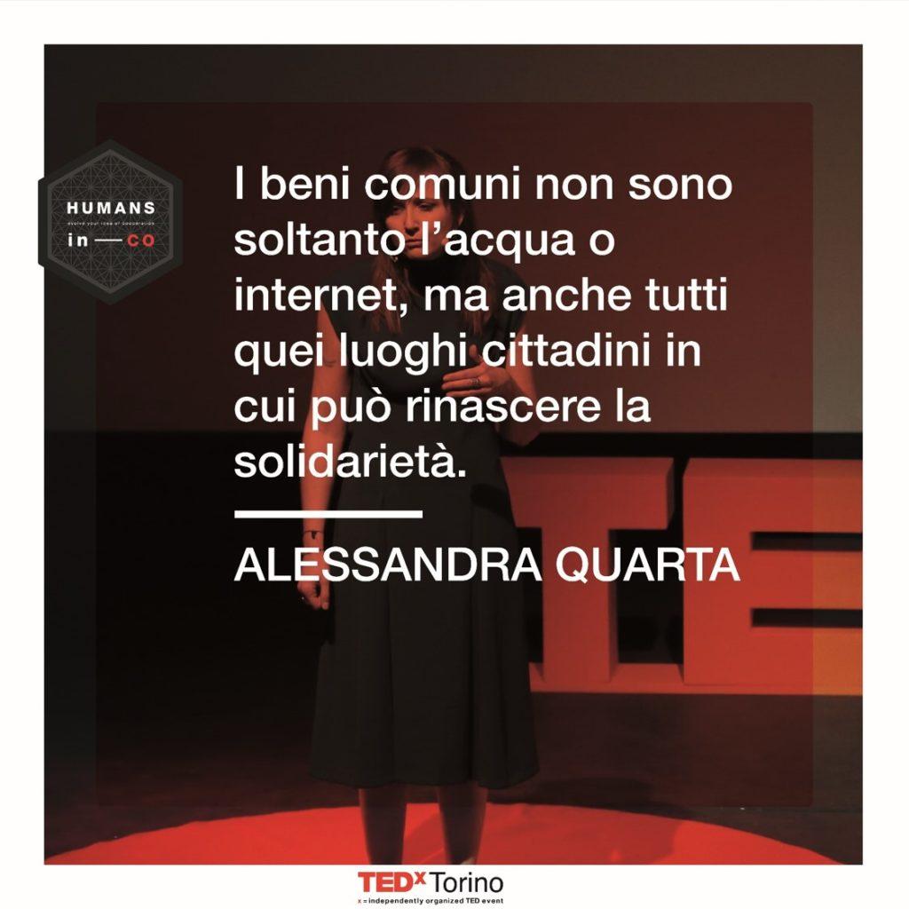 Alessandra Quarta parla di Beni Comuni a Humans in Co
