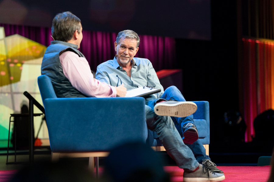 Reed Hastings TED