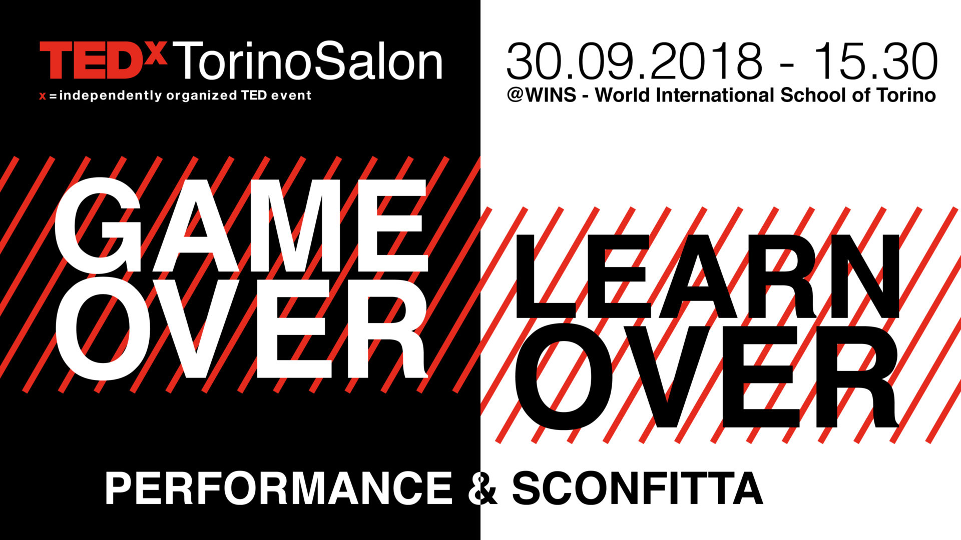 fallimento TEDx Torino Salon Game Over Learn Over