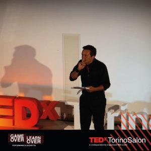 Alberto Barbi presenta il Salon di TEDxTorino Game Over / Learn Over, sulla sconfitta e il fallimento