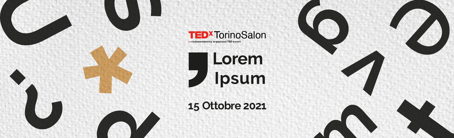 TEDxTorinoSalon Lorem ipsum
